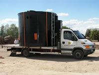 Заправка строительной, дорожной и коммунальной техники. Мобильные топливные модули